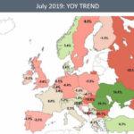 В Европе растет трафик тяжелых джетов